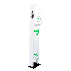 Totem Dispensador de Álcool Gel